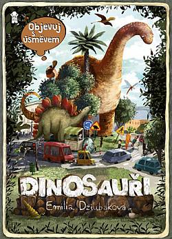 Objevuj s úsměvem: Dinosauři obálka knihy
