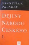 Dějiny národu českého I