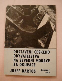 Postavení českého obyvatelstva na Severní Moravě za okupace obálka knihy