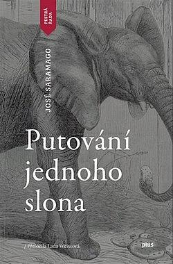 Putování jednoho slona obálka knihy