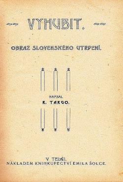Vyhubit – Obraz slovenského utrpení obálka knihy