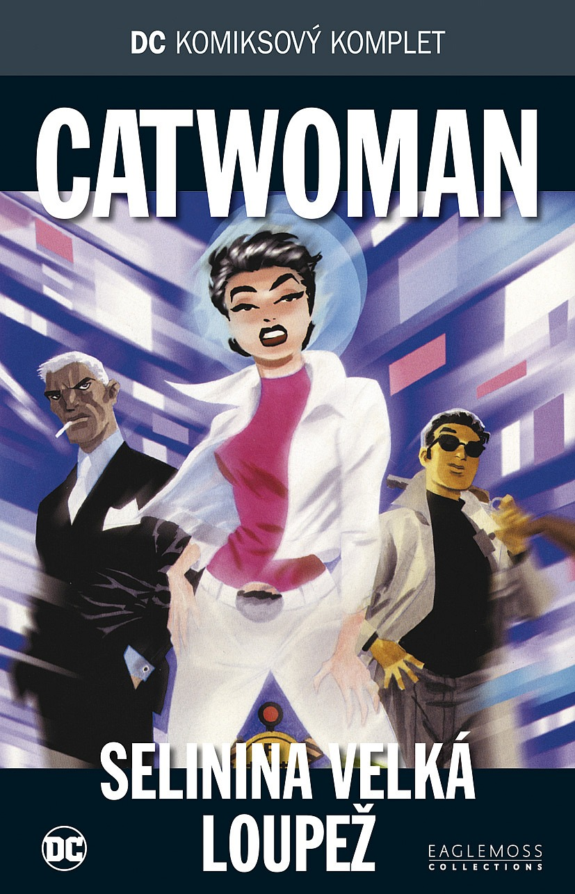 13ee9e3573c DC komiksový komplet  Catwoman  Selinina velká loupež - Ed Brubaker ...