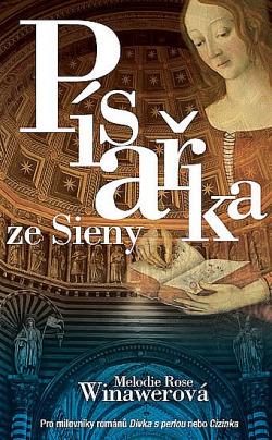 Písařka ze Sieny obálka knihy