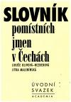 Slovník pomístních jmen v Čechách - úvod
