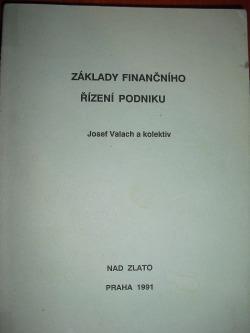Základy finančního řízení podniku obálka knihy