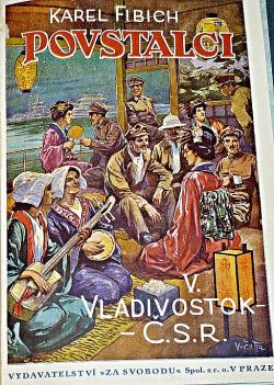 Povstalci V. -  Vladivostok–ČSR obálka knihy
