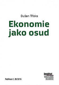 Ekonomie jako osud obálka knihy