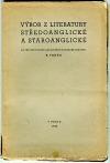 Výbor z literatury středoanglické a staroanglické