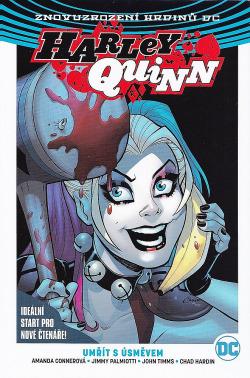 Harley Quinn 1: Umřít s úsměvem obálka knihy