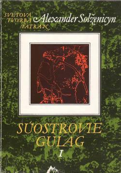 Súostrovie Gulag. 1. zv. obálka knihy