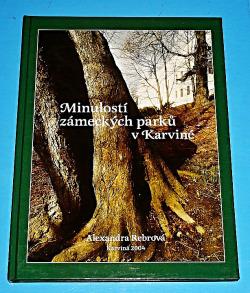Minulostí zámeckých parků v Karviné obálka knihy