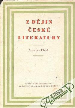 Z dějin české literatury obálka knihy