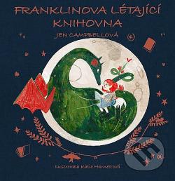Franklinova létající knihovna obálka knihy