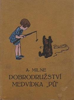 Dobrodružství medvídka Pů obálka knihy