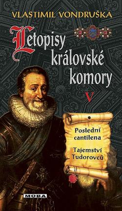 Poslední cantilena, Tajemství Tudorovců obálka knihy