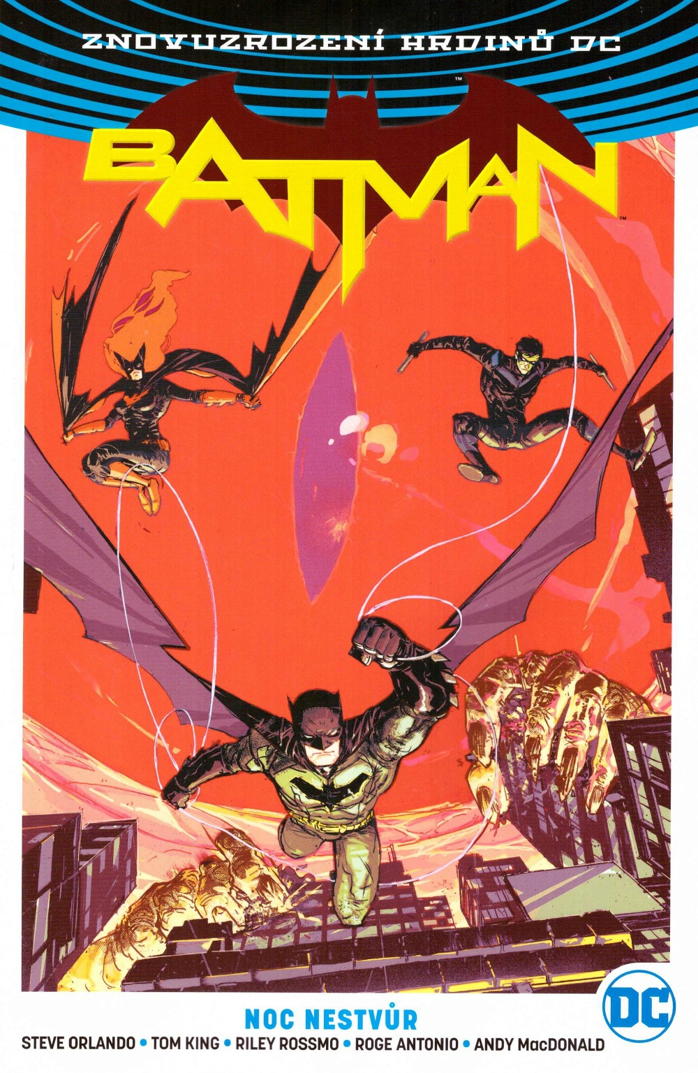 nedávné komiksové Batman