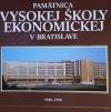 Pamätnica Vysokej školy ekonomickej v Bratislave 1940-1990