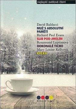 Muž s absolutní pamětí / Slib pod jmelím / Dokonalé ticho / Kulka obálka knihy