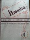 Kronika řemesel, obchodu, živností a výroby v oblasti Obchodní a živnostenské komory v Brně