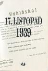 17. listopad 1939 po 55 letech