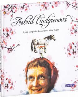 Astrid Lindgrenová obálka knihy