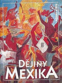 Dějiny Mexika obálka knihy