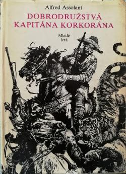 Obálka knihy  Dobrodružstvá kapitána Korkorána