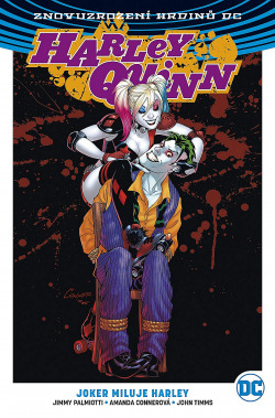 Harley Quinn 2: Joker miluje Harley obálka knihy