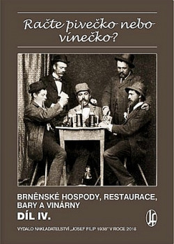 Račte pivečko nebo vínečko? Díl IV. obálka knihy