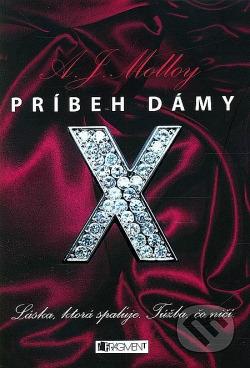 Príbeh dámy X obálka knihy