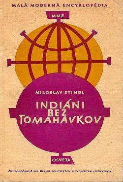 Indiáni bez tomahavkov obálka knihy