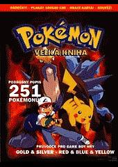 Pokémon - velká kniha obálka knihy