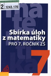 Sbírka úloh z matematiky pro 7. ročník ZŠ obálka knihy