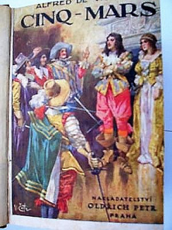 Markýz Cinq Mars obálka knihy