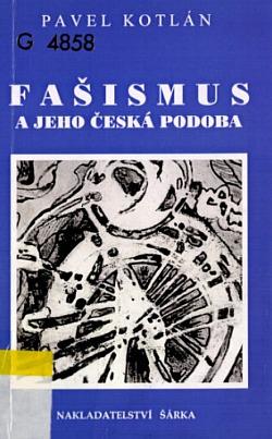 Fašismus a jeho česká podoba obálka knihy