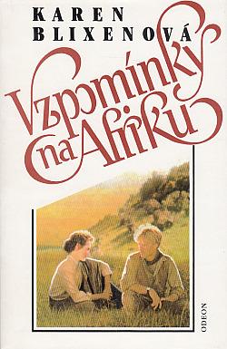 Vzpomínky na Afriku obálka knihy