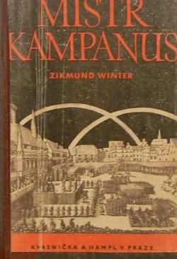 Mistr Kampanus obálka knihy
