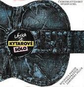 Láska je kytarové sólo obálka knihy