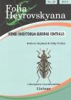 Folia Heyrovskyana Coleoptera: Curculionidae Lixinae
