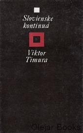 Slovienske kontinuá obálka knihy