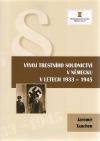 Vývoj trestního soudnictví v Německu v letech 1933-1945