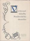 Veršované skladby Neuberského sborníku