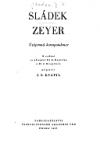 Sládek - Zeyer. Vzájemná korespondence