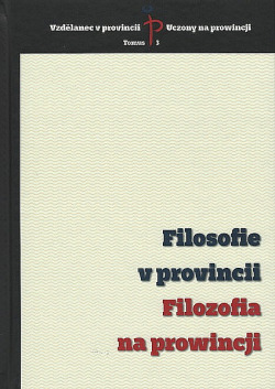 Filosofie v provincii / Filozofia na prowincji obálka knihy