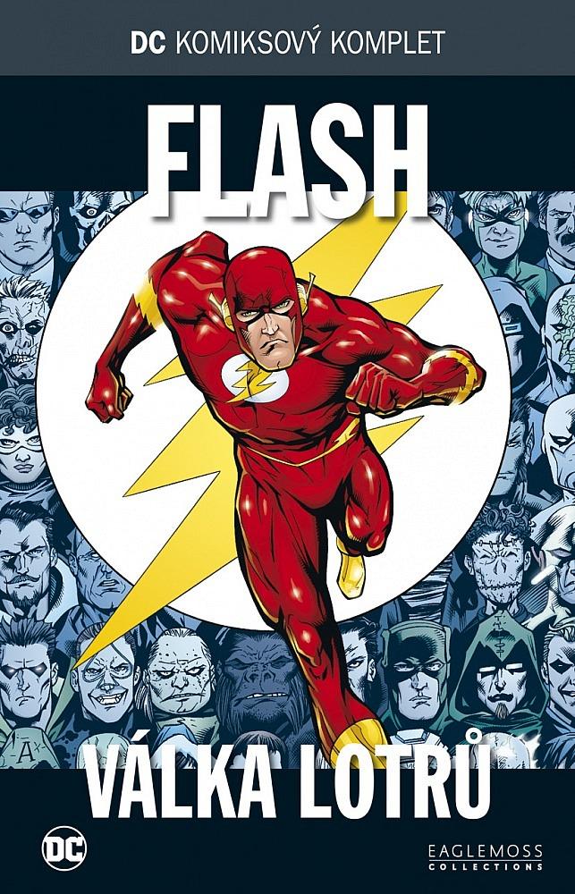 5a99d7d1537 DC komiksový komplet  Flash  Válka Lotrů - Geoff Johns