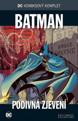 Batman: Podivná zjevení obálka knihy