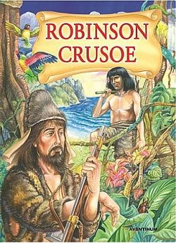 Robinson Crusoe (převyprávění) obálka knihy