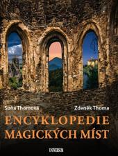 Encyklopedie magických míst obálka knihy