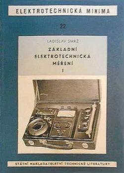 Základní elektrotechnická měření I obálka knihy