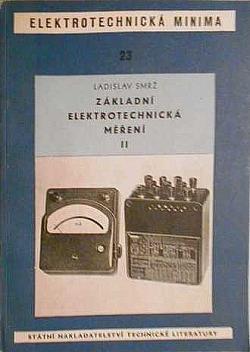 Základní elektrotechnická měření II obálka knihy